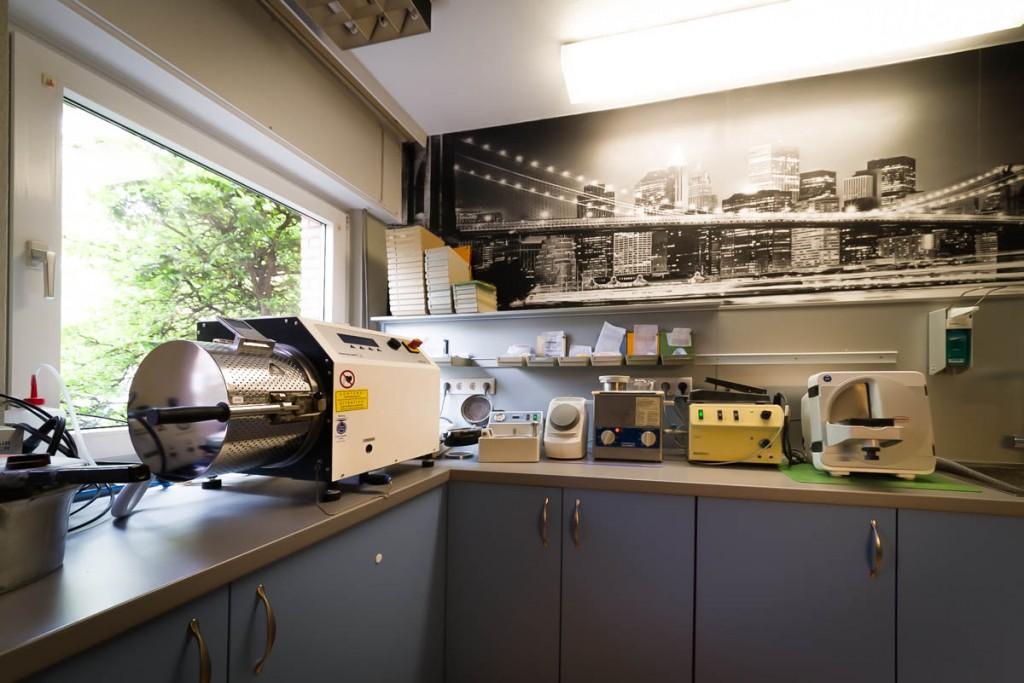 Bild des Labors